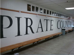 Pirate Country hallway