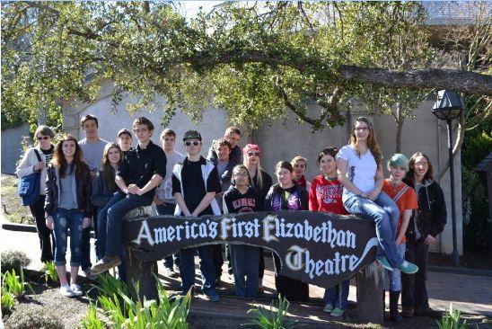 Students at Ashland play