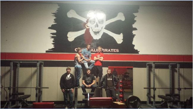 Weight lifting class photo