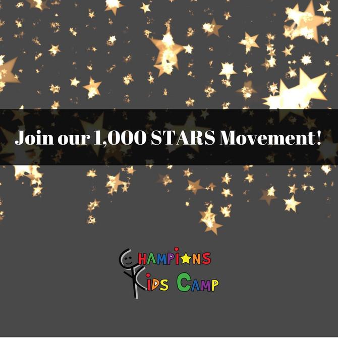 Join CKC's 1,000 STARS Movement!