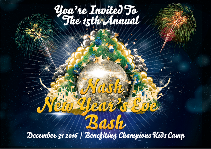 New Year's Eve Nash Bash 2017
