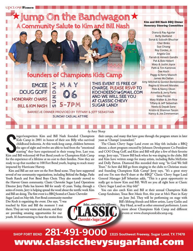 Co-Founders, Bill & Kim Nash, featured in Magazine article.