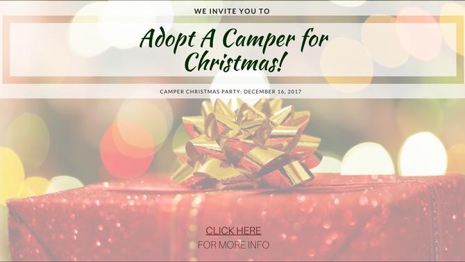 Adopt A Camper for Christmas!