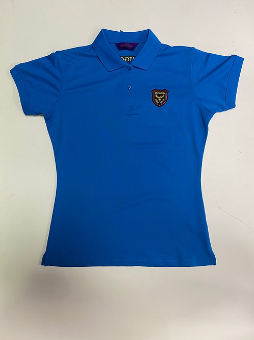 Henbury Blue Ladies T-shirt