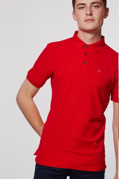 Calvin Klein Newport Red Polo