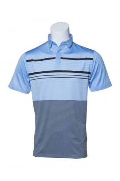 Murray Golf Hale Airy Blue/Dark Navy Polo