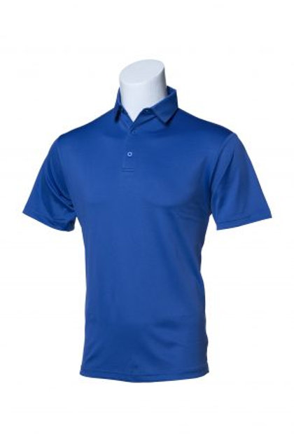 Murray Golf Hogan Royal Blue Polo