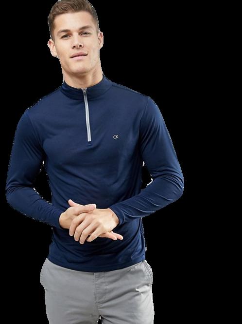 Calvin Klein Newport Navy Half-Zip Sweater