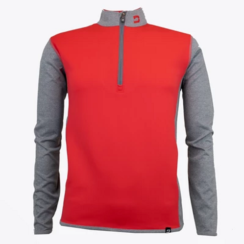 Druids Golf Red Muskerry Sweater