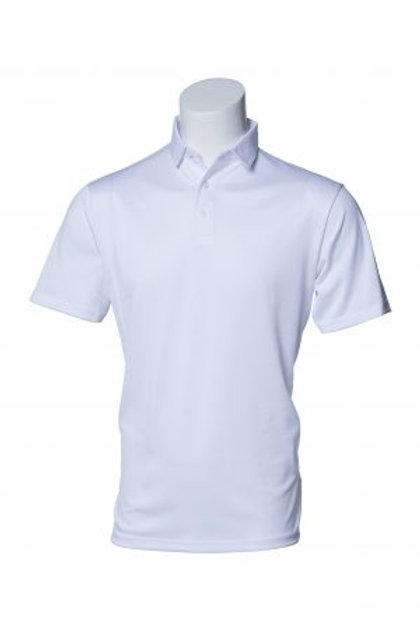 Murray Golf Hogan Brilliant White Polo