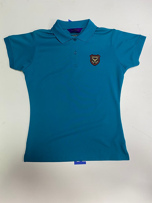 Henbury Teal Ladies T-shirt