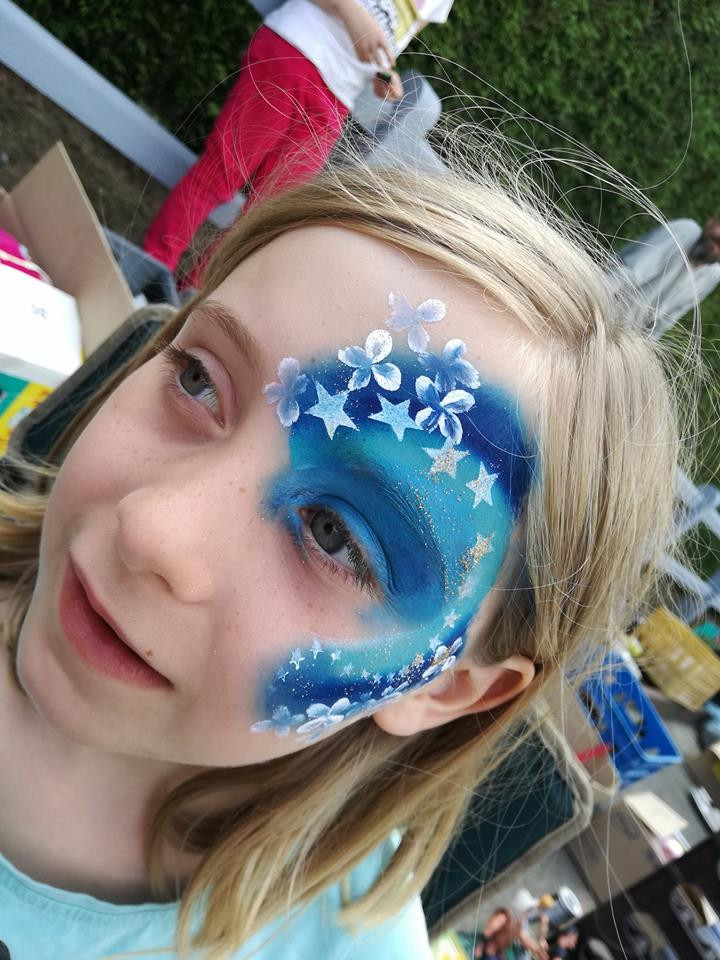 maquillage enfant étoilé