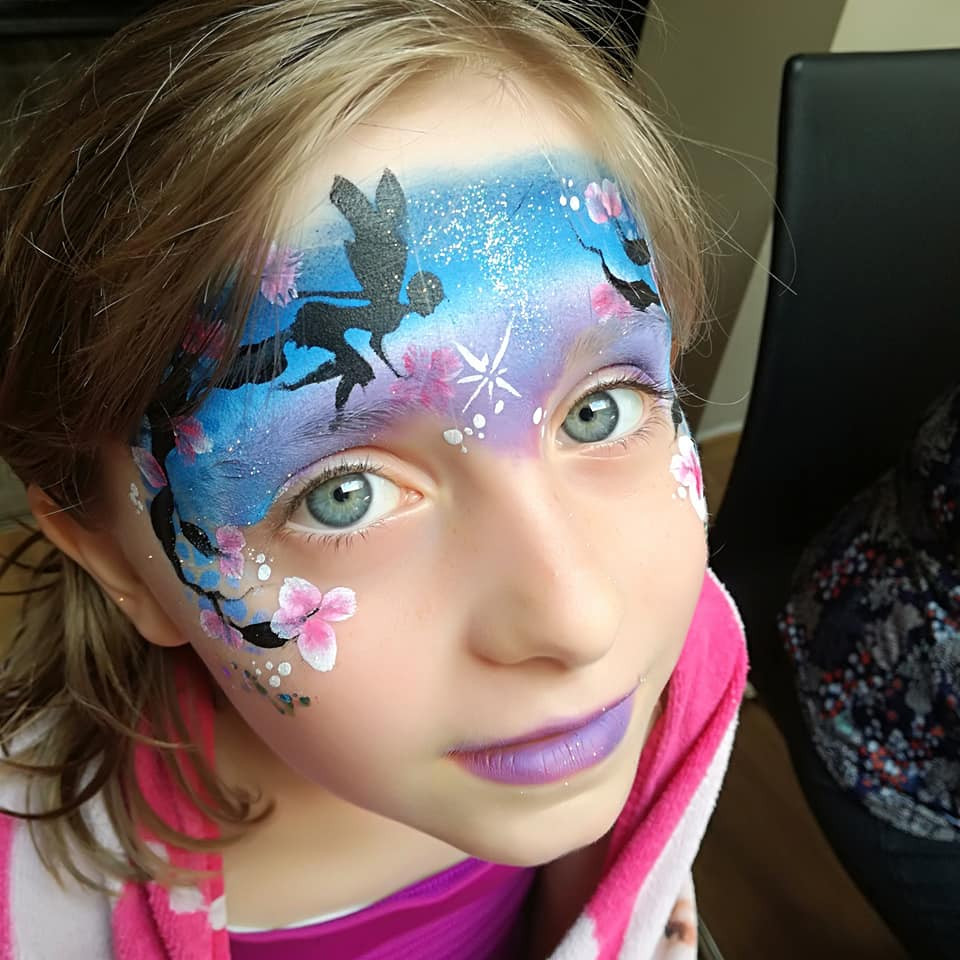 maquillage fille fée