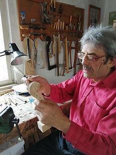 Szasz Friderich violin maker