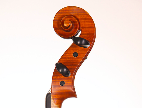 handcrafted violin romania