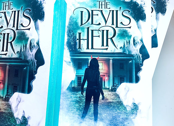 The Devil's Heir (paperback) *Stained