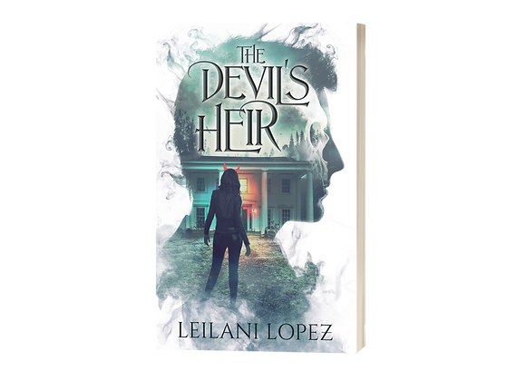 *The Devil's Heir stained edges