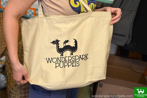 WSP Logo - large organic tote bag