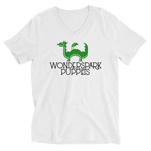WSP Logo - Unisex V-Neck T-Shirt