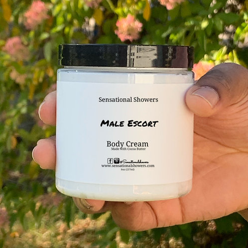 Male Escort Large Body Cream