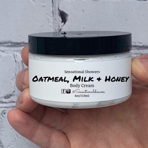 Oatmeal, Milk & Honey Body Cream
