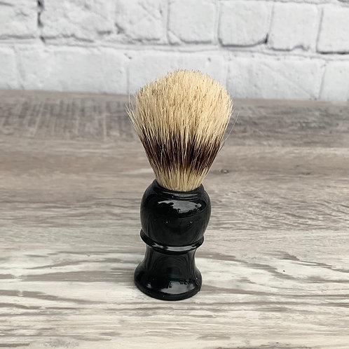 Black Handled Shaving Brush