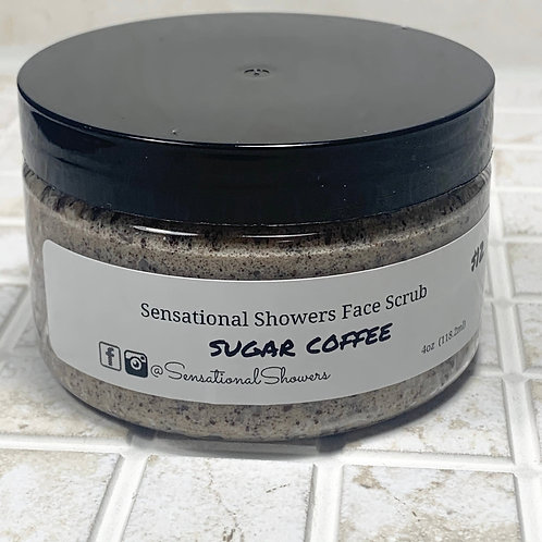 Sugar Coffee Face Scrub