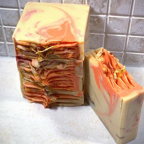 Orange Cinnamon Vegan Artisan Soap Bar