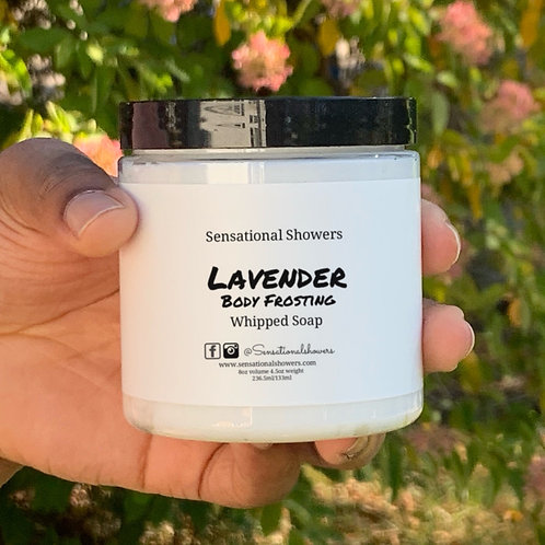 Lavender Body Frosting, Whipped Soap