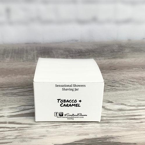 Tobacco & Caramel Jar Shaving Soap