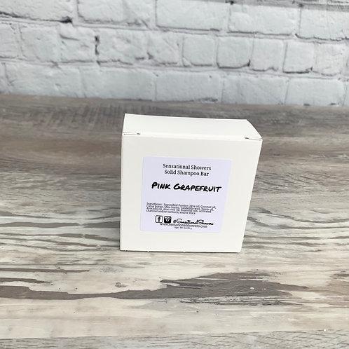 Pink Grapefruit Essential Oil Solid Shampoo Bar