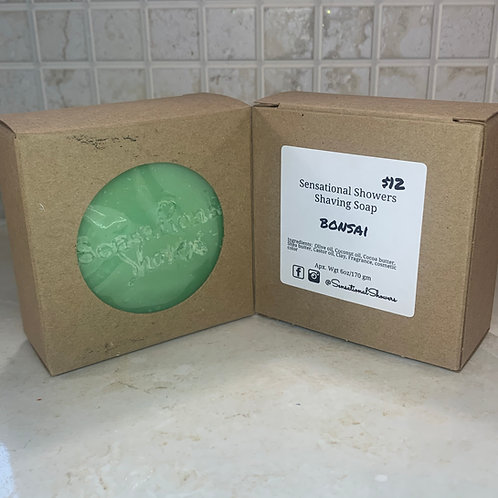 Bonsai Shaving Soap Bar