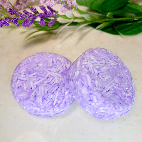Lavender Essential Oil Concentrated Solid Shampoo