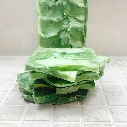 Aloe Cucumber Vegan Artisan Travel & Guest Soap