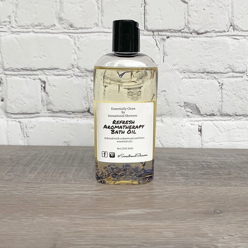 Refresh Aromatherapy Body and Bath Oil
