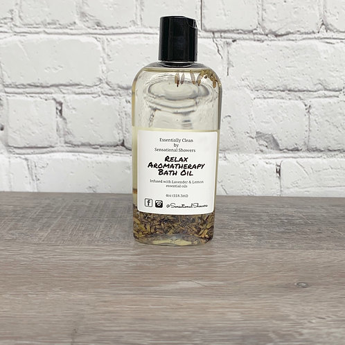 Relax Aromatherapy Body and Bath Oil