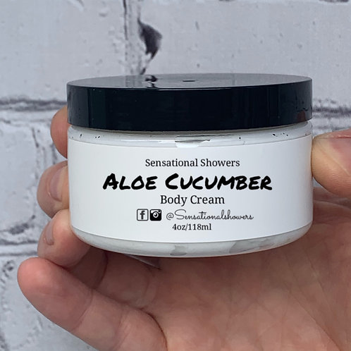 Aloe Cucumber Body Cream