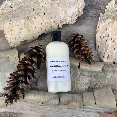 Gingerbread Man Hand & Body Lotion