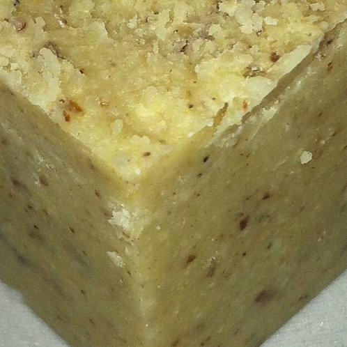 Almond Solid Lotion Scrub Bar