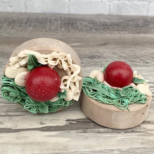 Cherry Almond Vegan  Artisan Soap Bar