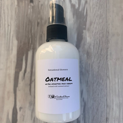 Oatmeal ultra hydrating face cream