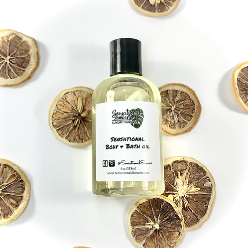 Sensational Body & Bath Oil