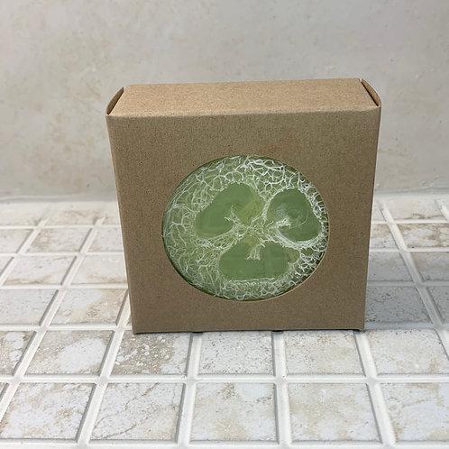Lime Margarita Loofah Crystal Soap