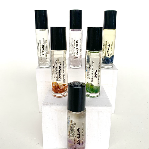 Gemstone Collection Perfume Oil, Roller Ball