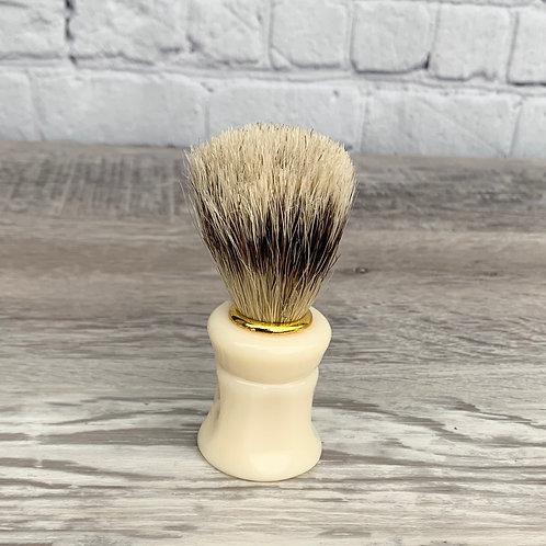 White handled Shaving Brush
