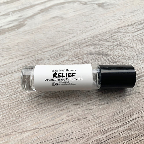 Relief Aromatherapy Perfume Oil, Roller Ball