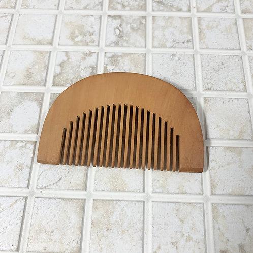 Wooden Beard Comb, Mini