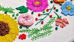 How To Do Extended Fly Stitch