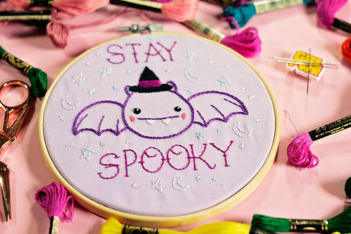 Stay Spooky Embroidery Kit