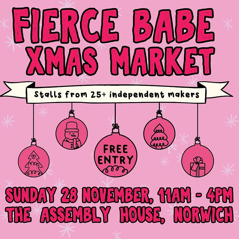 Fierce Babe Xmas Market